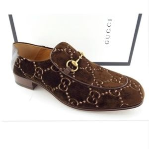 New GUCCI GG Bit Convertible Loafers 10.5US/9.5UK